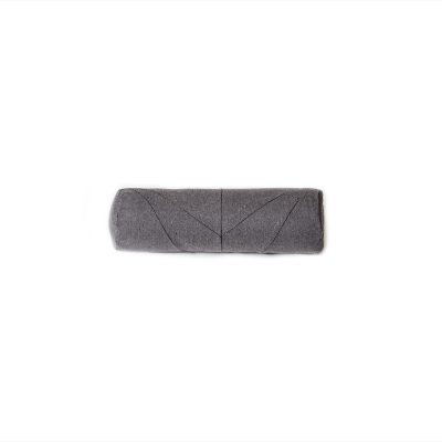 Snuggles & Stitches Cylinder Pillow Umbra-Grey