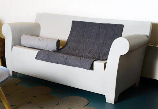 Quilt & Cylinder Pillow